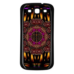 A Flaming Star Is Born On The  Metal Sky Samsung Galaxy S3 Back Case (black)