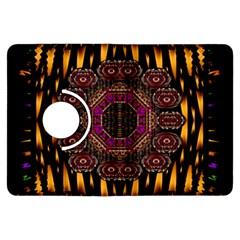A Flaming Star Is Born On The  Metal Sky Kindle Fire Hdx Flip 360 Case