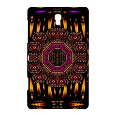 A Flaming Star Is Born On The  Metal Sky Samsung Galaxy Tab S (8 4 ) Hardshell Case