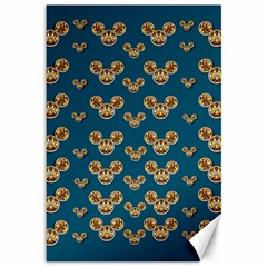 Cartoon Animals In Gold And Silver Gift Decorations Canvas 12  X 18