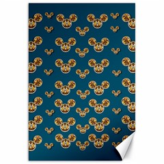 Cartoon Animals In Gold And Silver Gift Decorations Canvas 20  X 30