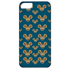 Cartoon Animals In Gold And Silver Gift Decorations Apple Iphone 5 Classic Hardshell Case