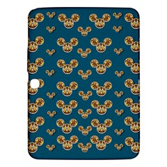 Cartoon Animals In Gold And Silver Gift Decorations Samsung Galaxy Tab 3 (10 1 ) P5200 Hardshell Case