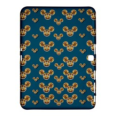 Cartoon Animals In Gold And Silver Gift Decorations Samsung Galaxy Tab 4 (10 1 ) Hardshell Case