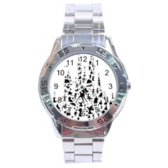 Happiest Castle On Earth Stainless Steel Analogue Watch