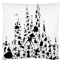 Happiest Castle On Earth Standard Flano Cushion Case (two Sides)