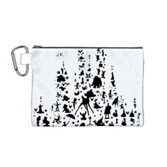 Happiest Castle On Earth Canvas Cosmetic Bag (m)
