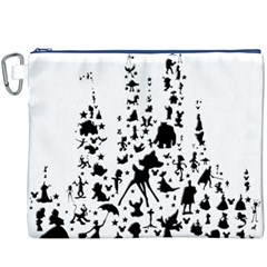 Happiest Castle On Earth Canvas Cosmetic Bag (xxxl)