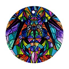 Arcturian Awakening Grid   Round Ornament (two Sides)