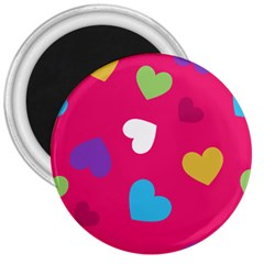 Valentine s Day Pattern 3  Magnets