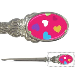 Valentine s Day Pattern Letter Openers