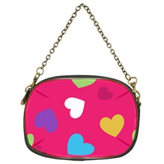Valentine s Day Pattern Chain Purses (one Side)