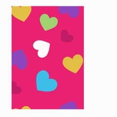 Valentine s Day Pattern Large Garden Flag (two Sides)