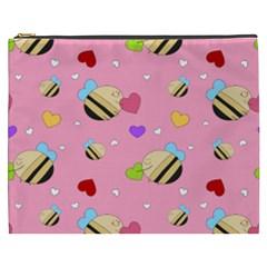 Bee Mine Valentine Cosmetic Bag (xxxl)