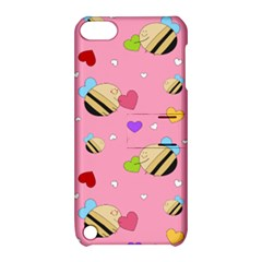 Bee Mine Valentine Apple Ipod Touch 5 Hardshell Case With Stand