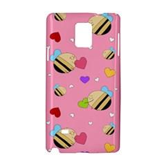 Bee Mine Valentine Samsung Galaxy Note 4 Hardshell Case