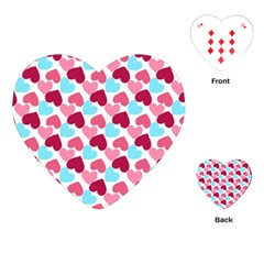 Bold Valentine Heart Playing Cards (heart)