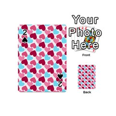 Bold Valentine Heart Playing Cards 54 (mini)