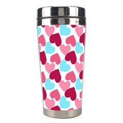 Bold Valentine Heart Stainless Steel Travel Tumblers
