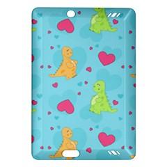 Dinosaur Love Pattern Amazon Kindle Fire Hd (2013) Hardshell Case
