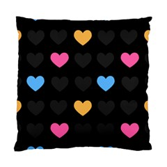 Emo Heart Pattern Standard Cushion Case (two Sides)