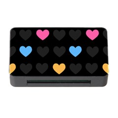 Emo Heart Pattern Memory Card Reader With Cf
