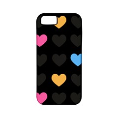 Emo Heart Pattern Apple Iphone 5 Classic Hardshell Case (pc+silicone)