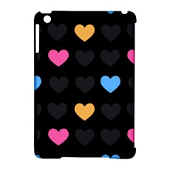 Emo Heart Pattern Apple Ipad Mini Hardshell Case (compatible With Smart Cover)