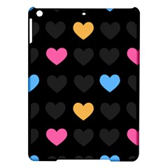 Emo Heart Pattern Ipad Air Hardshell Cases