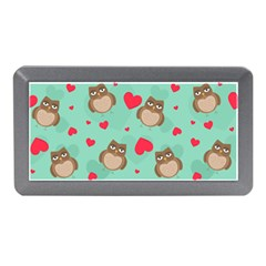 Owl Valentine s Day Pattern Memory Card Reader (mini)