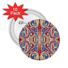 Symbols Pattern 2 25  Buttons (10 Pack)