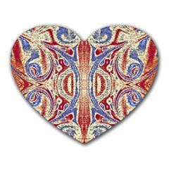 Symbols Pattern Heart Mousepads