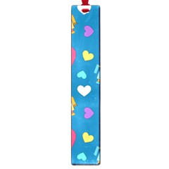Robot Love Pattern Large Book Marks