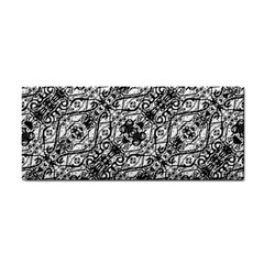 Black And White Ornate Pattern Cosmetic Storage Cases