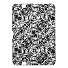 Black And White Ornate Pattern Kindle Fire Hd 8 9