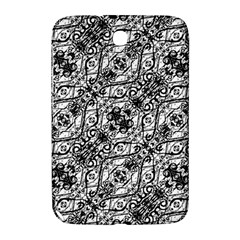 Black And White Ornate Pattern Samsung Galaxy Note 8 0 N5100 Hardshell Case