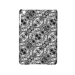 Black And White Ornate Pattern Ipad Mini 2 Hardshell Cases