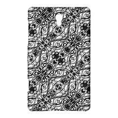 Black And White Ornate Pattern Samsung Galaxy Tab S (8 4 ) Hardshell Case