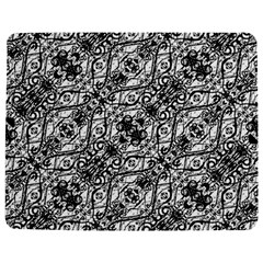 Black And White Ornate Pattern Jigsaw Puzzle Photo Stand (rectangular)