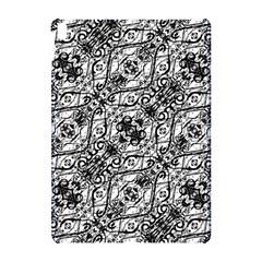 Black And White Ornate Pattern Apple Ipad Pro 10 5   Hardshell Case