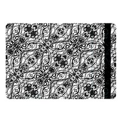 Black And White Ornate Pattern Apple Ipad Pro 10 5   Flip Case