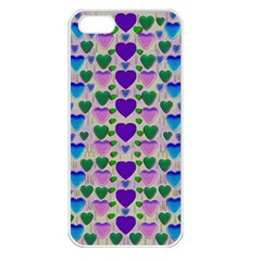Love In Eternity Is Sweet As Candy Pop Art Apple Iphone 5 Seamless Case (white)