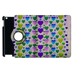 Love In Eternity Is Sweet As Candy Pop Art Apple Ipad 2 Flip 360 Case