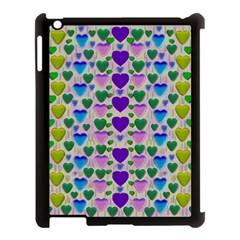 Love In Eternity Is Sweet As Candy Pop Art Apple Ipad 3/4 Case (black)
