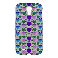 Love In Eternity Is Sweet As Candy Pop Art Samsung Galaxy S4 I9500/i9505 Hardshell Case