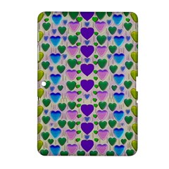 Love In Eternity Is Sweet As Candy Pop Art Samsung Galaxy Tab 2 (10 1 ) P5100 Hardshell Case