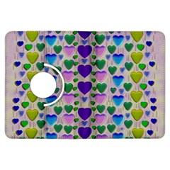 Love In Eternity Is Sweet As Candy Pop Art Kindle Fire Hdx Flip 360 Case