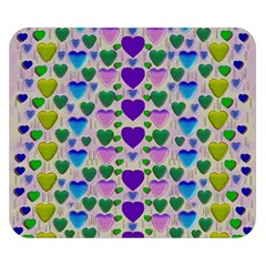 Love In Eternity Is Sweet As Candy Pop Art Double Sided Flano Blanket (small)