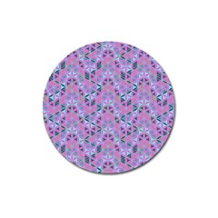 Sacred Geometry Pattern 2 Magnet 3  (round)