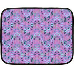 Sacred Geometry Pattern 2 Double Sided Fleece Blanket (mini)